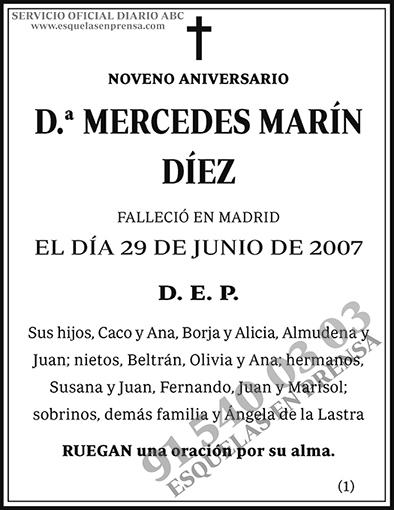 Mercedes Marín Díez